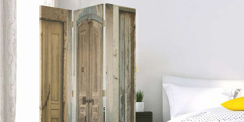 Biombo de madera rústica vintage rústico antiguo comprar precio precios barato baratos