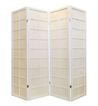 Biombo japonés blanco Fine Asianliving barato baratos comprar online precio precios Panel Sakura, plegable, Cherryblossom, donbiombo, el-biombo, decoración oriental maison du monde