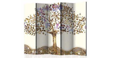 Biombo decorativo de árbol moderno
